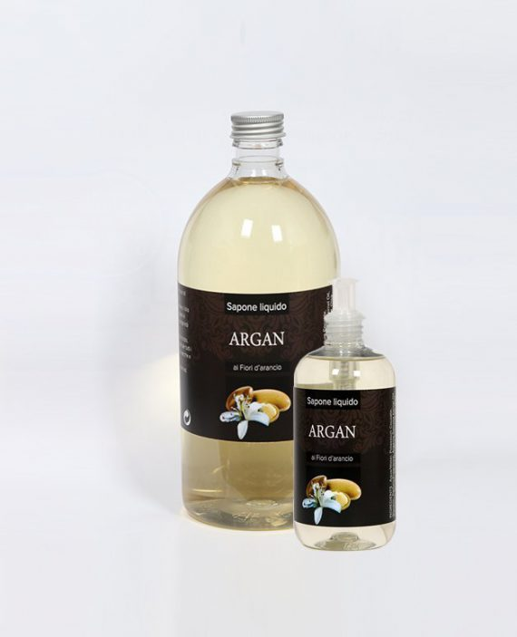 Sapone liquido olio Argan e fiori d'arancio