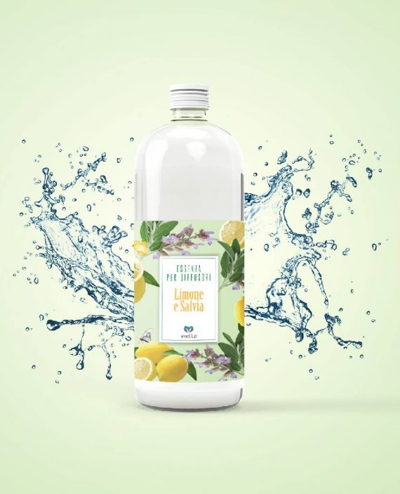 essenze per diffusori limone salvia
