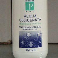 smacchiatori naturali - acqua ossigenata